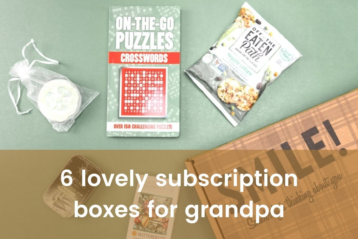 Best Subscription Boxes to gift Grandpa monthly- Featured Shot
