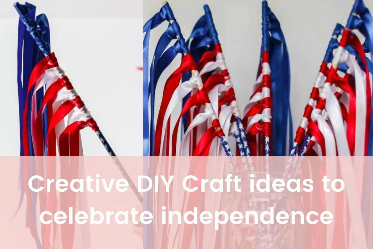 The DIY 4th of July Crafts for U.S. Independence Day Party- Featured Shot